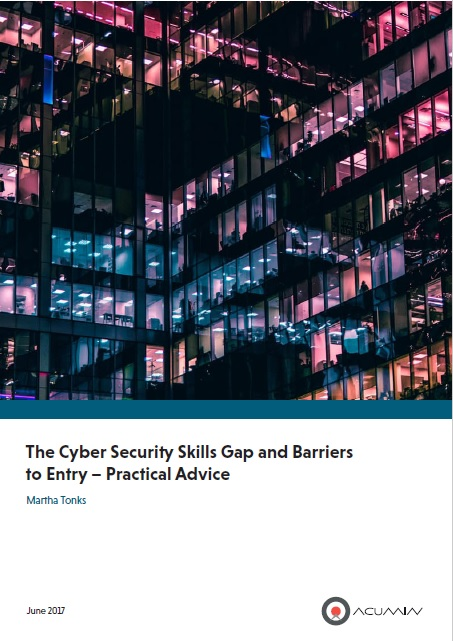 The Cyber Security Skills Gap And Barriers To Entry – Practical Advice
