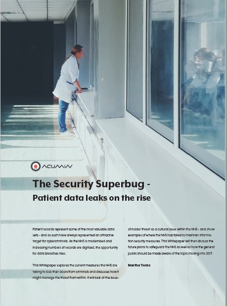 The Security Superbug – Patient Data Leaks on the Rise